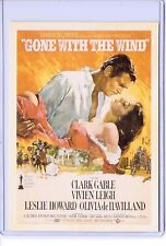 VINTAGE REPRO MOVIE POSTER GONE WITH THE WIND REPRODUCTION POSTCARD