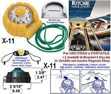 "RITCHIE X-11 BUSSOLA per USO FISSO e PORTATILE ROSA 2"" BARCA CANOA KAYAK SPORT"
