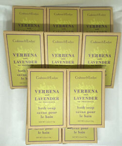 10 X Crabtree And Evelyn Verbena and Lavender Soap 25g Boxed
