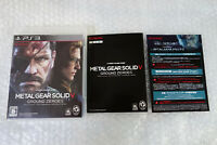 Metal Gear Solid V Ground Zeroes PS3 Region Free Sony Playstation3 Japan