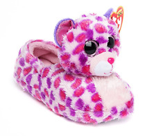 Nwt Ty Beanie Boo Glamour The Cat Plush Big Head Slipper X Small Kid Size 11/12