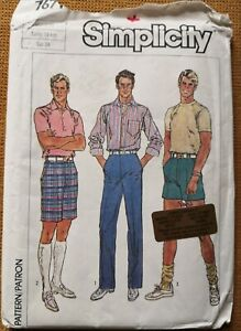 MEN'S FUSS-FREE FIT PANTS & SHORTS