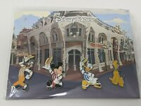 Main Street Dapper Mickey Goofy Donald Pluto 4 Pin Disney Booster Pack