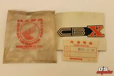 NOS HONDA 1979-1980 HONDA CBX SIDE COVER LABEL PART # 87125-422-300 OEM M
