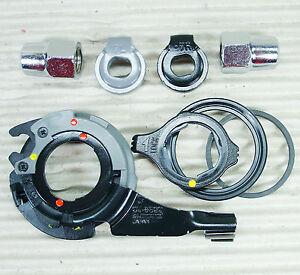 Shimano Nexus Zubehör Set für 8 Gang Nexus Nabe Sicherungsscheibe schwarz grau