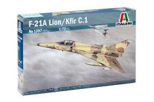 Italeri 1397 1/72 Scale Model Military Aircraft Kit U.S F-21A Lion/Kfir C.1 IAF