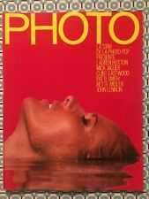 PHOTO French n 180 Sept 1982 Ursula Andress Cover Annie Leibovitz Heisler Borner