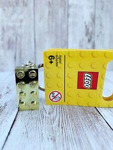 Lego Gold 2x4 Brick 850808 Keyring