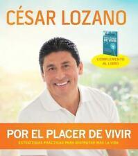 Por el placer de vivir Conferencia grabada en vivo Spanish Edition
