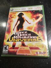 Dance Dance Revolution Universe -Xbox 360 Brand New Factory Sealed