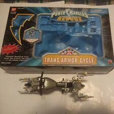 Power Rangers Titanium Figure Trans-Armor Cycle Lightspeed Rescue 2000