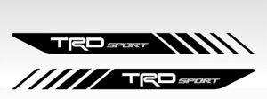 Decal TRD Sport for Toyota Tacoma bort side Stickers 2Pcs Vinyl  Window Laptop