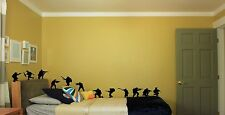 Home Wall Vinyl Decor Stickers Of Army Soldiers For Children Full Set Of 12