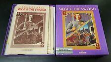 Amiga Broderbund Joan of Arc Siege and The Sword Vintage Computer Game