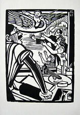 C. FELIXMÜLLER: KLAPPERSTORCH GEBURT ENKELIN STORCH OKTOBER 1947 STORK CIGOGNE
