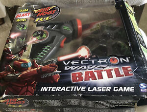 Interactive Laser Game, Air Hog R/C, Vectron Wave Battle, New With Damage Box.