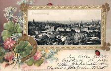 22057/ Foto AK, Hufeisenkarte, Prägekarte, Braunschweig, 1901