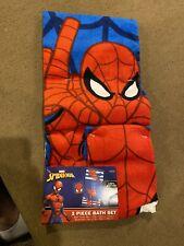 Spiderman 2 Piece Bath Set