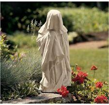 "European Weeper 10.5"" Garden Sculpture Antique Replica Mourning Statue Replica"