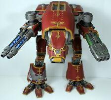 Warhammer 40k Forgeworld Warhound Titan painted Blood Angel space marine