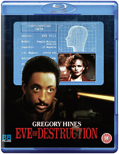 EVE OF DESTRUCTION (1991) blu-ray 88 films gregory hines action BLU