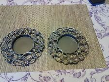 PartyLite Jewels Pillar Candle Holder-P7474 set of two