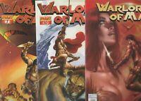 WARLORD OF MARS 7 COMIC LOT ALL FPLUS TO NM