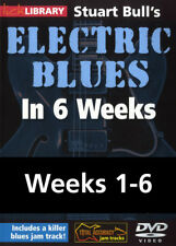 LICK LIBRARY Stuart Bull's ELECTRIC BLUES IN 6 WEEKS Guitar Lesson 6 Video DVD