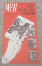 RCA VICTOR Tape Cartridge Easy Loading Magazine 1959 catalog of music albums OLD
