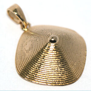 African Fashion Cap Pedant Gold Pendant Charms Jewelry for Womens Necklace Chain