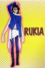 Bleach Rukia Fall Clothes Post Card Anime NEW