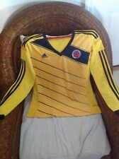 Colombia Adidas Home Soccer/futbol  Long Sleeves Jersey  Size L women's