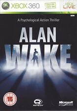 ALAN WAKE for Xbox 360 - with box & manual - PAL