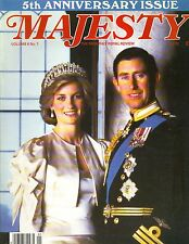 PRINCESS DIANA UK Majesty Magazine 5/85 Vol 6 No 1 5TH ANNIVERSARY