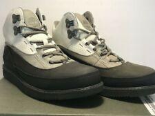 Timberland Mens Size 9 43 North Mid Dark Grey Bone Leather Hiking Boots