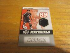 Jaime Moreno 2008 Upper Deck MLS Materials #MM22 Relic Card MLS Soccer DC United