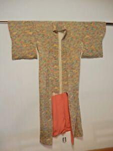VINTAGE AUTHENTIC JAPANESE KIMONO SILK