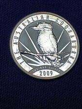 2009 Australia Kookaburra Perth Mint 1 oz .999 Silver Coin