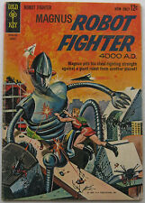 Magnus, Robot Fighter #3 (Aug 1963, Western Publishing), VG condition