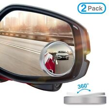 2 Packs Blind Spot Mirrors - Great For Motorcycles, Trucks, Snowmobiles As Well