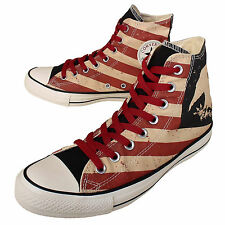 New 7 Men 9 Women Shoes Sneakers Converse All Star Flag Stripe Eagle American