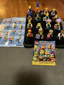 Lego 71009 Minifigures The Simpsons Series 2 Complete Set Of 16