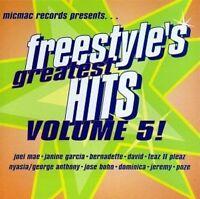 Freestyle's greatest Hits 5 Joei Mae, Janine Garcia, Bernadette, David, J.. [CD]