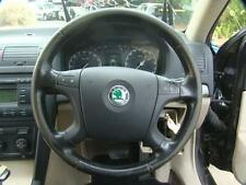 SKODA OCTAVIA LEATHER STEERING WHEEL 1Z 10/07-02/09