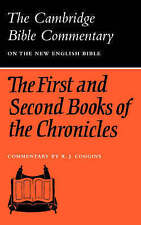 The First and Second Books of the Chronicles (Cambridge Bible Commentaries on th