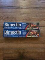 Horse Dewormer Paste, Apple Flavor, .21-oz.  2 Tubes