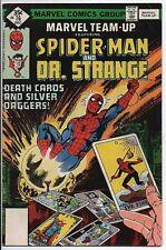 MARVEL COMICS Marvel Team-up #76 FN+ Spider-Man and Dr. Strange Dec.'78
