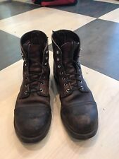 red wing iron ranger Boots 10d