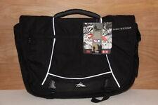 High Sierra Tank Messenger Laptop Bag Duralite Black.- Brand New