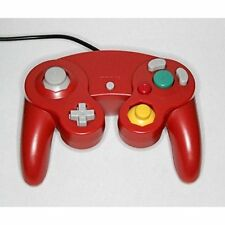 Replacement Controller Red For GameCube Gamepad Wii Gamecube